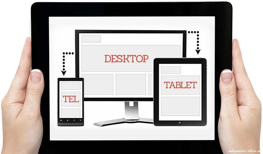 Portal internetowy lub mobilną stronę www